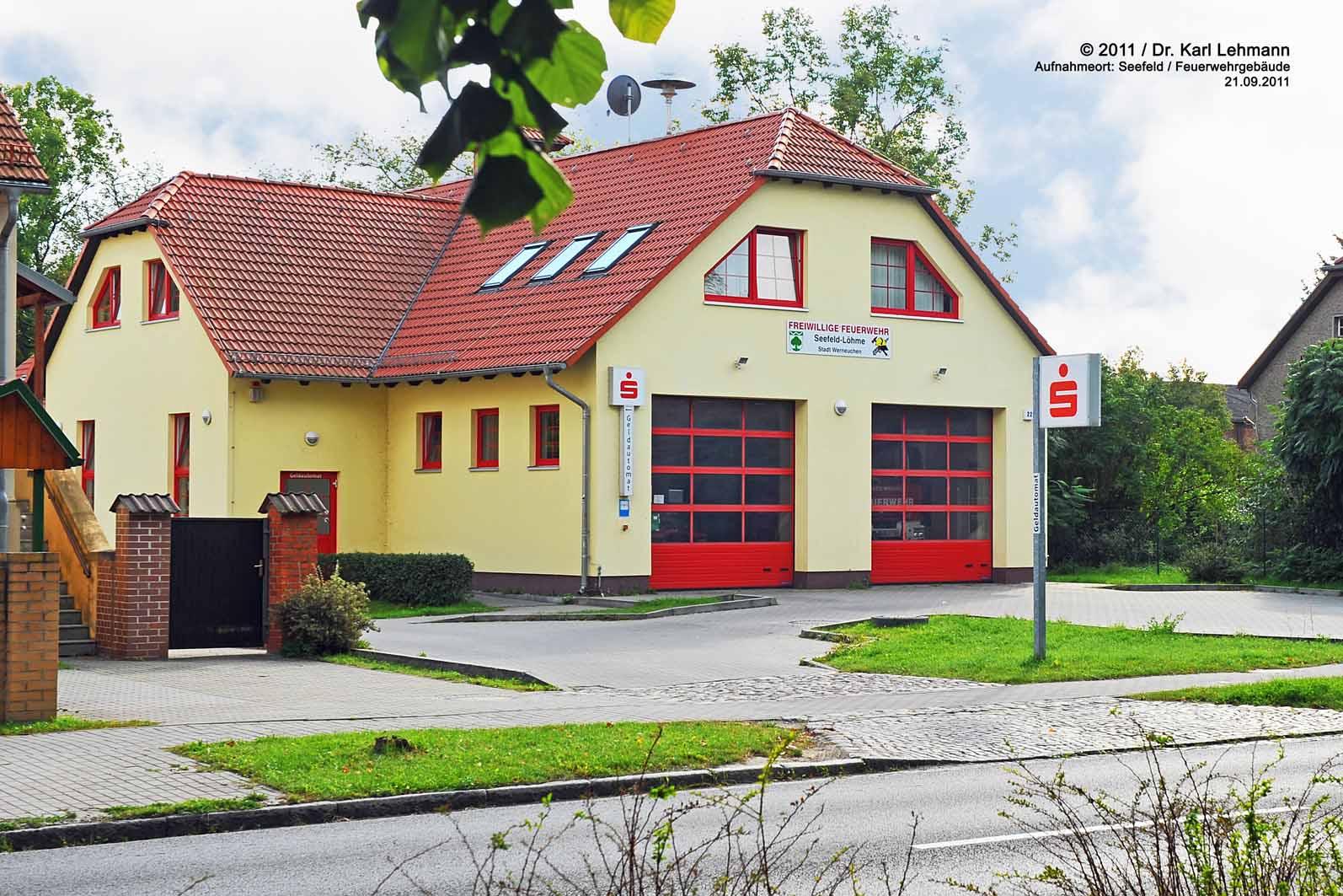 Feuerwehrgeräte- und Dorfgemeinschafthaus Seefeld
