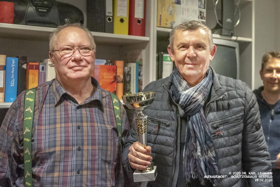 Pokalschießen Löhme, Siegerehrung