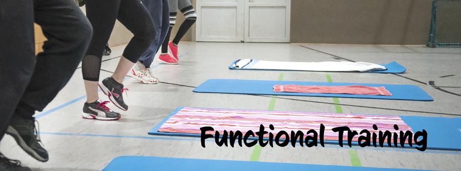 Beitragsbild Functional Training mit Schriftzug